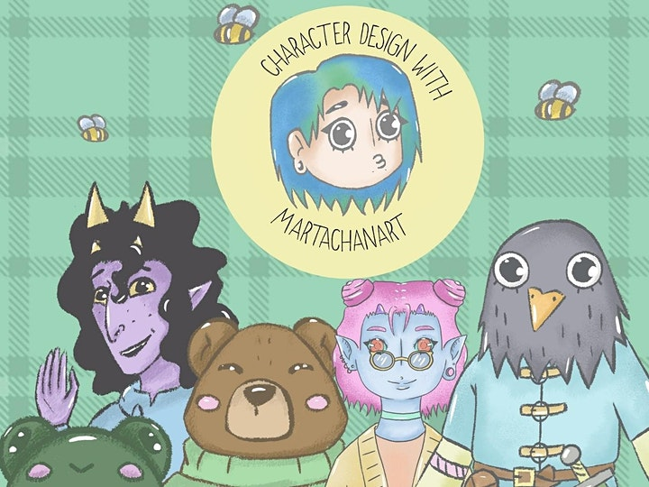 Comic-Con Character Development Workshop with Marta Boniakowska image