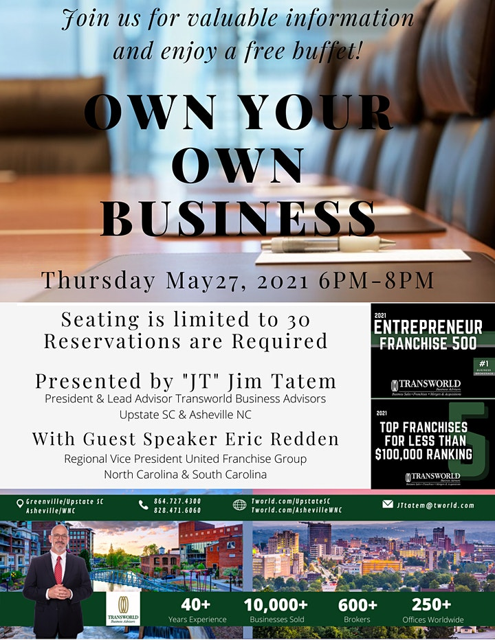 Own Your Own Business Seminar image