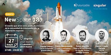 Evento NewSpace Day entradas