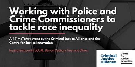Working with Police and Crime Commissioners to tackle race inequality tickets