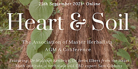 Heart & Soil: The Association of Master Herbalists AGM & Conference tickets