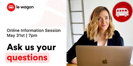 Le Wagon Spain: Online Information Session tickets