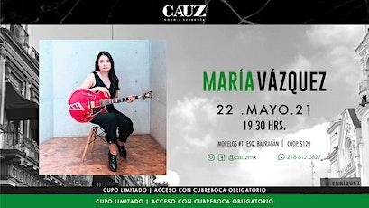 María Vázquez entradas