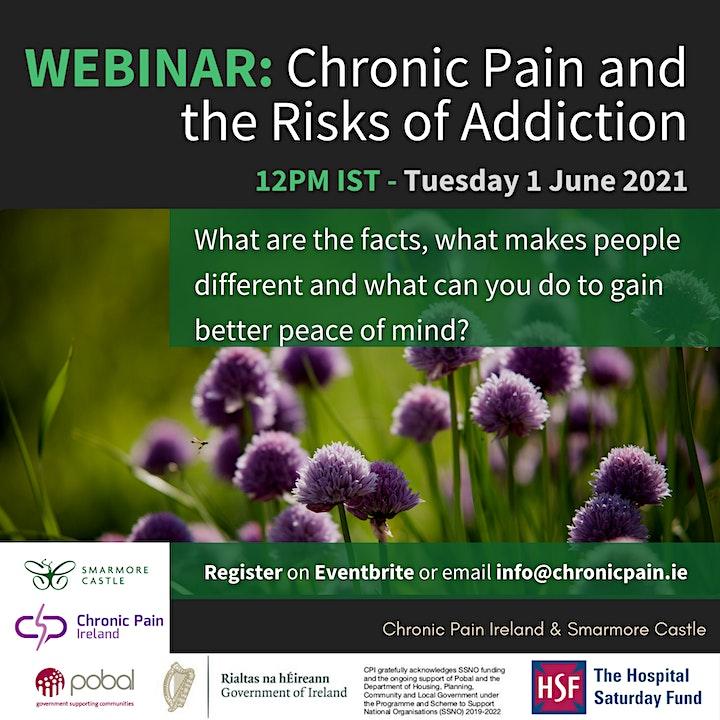 Chronic Pain & the risks of addiction image