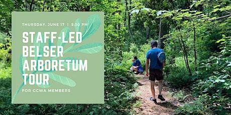 Belser Arboretum Tour for GCWA tickets