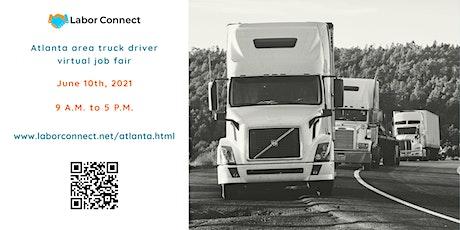 Atlanta area truck driver virtual job fair tickets