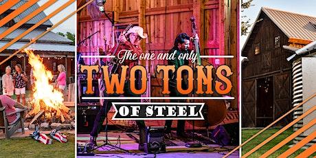Award Winning Two Tons of Steel & Great Texas Wine!!! tickets