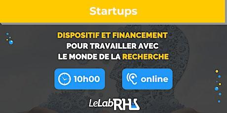 Dispositif et financement pour travailler avec le monde de la recherche billets