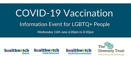 COVID-19 Vaccination Information Event for LGBTQ+ Communities tickets