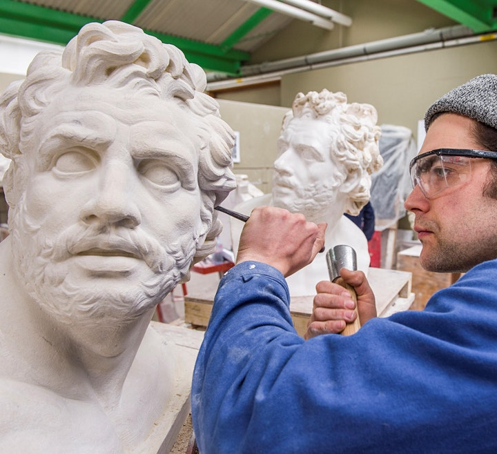 Woodcarving & Gilding and Stone Carving course in-person open day 2021/22 image