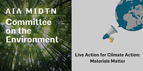 Live Action for Climate Action: Materials Matter tickets
