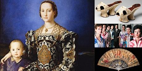 'Twisted Silks & Stilettos: The History of Italian Fashion' Webinar tickets