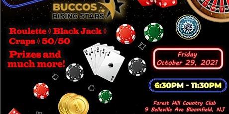 Casino Mascaraed Night - Bucco's Rising Stars tickets
