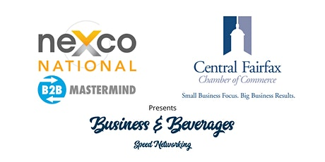 neXco National & Central Fairfax Chamber of Commerce Speed Networking tickets