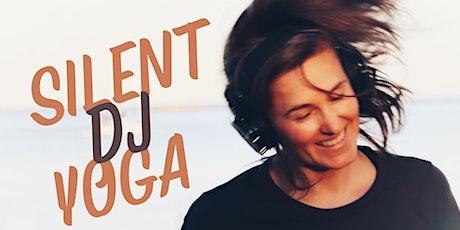 Ocean View YOGA  wearing Silent DJ headsets w Tamara at Willows Beach FIELD tickets