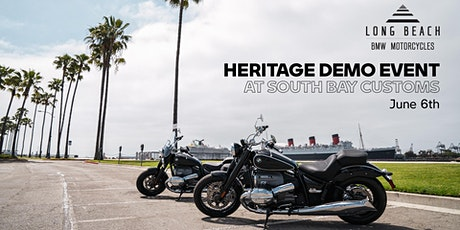 Heritage Demo Event presented by Long Beach BMW Motorcycles tickets