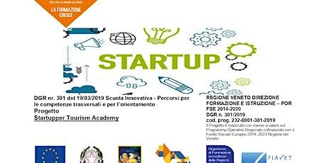 Startupper Tourism Academy - presentazione finale biglietti