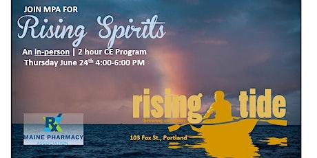 Rising Spirits at Rising Tide tickets