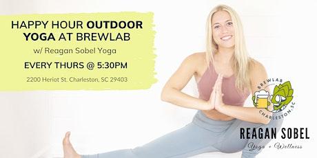 Outdoor Yoga at Brewlab w/ Reagan Sobel tickets