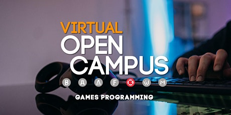 Campus Insights: Games Programming Tickets