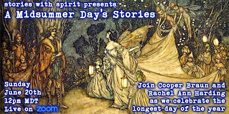 A Midsummer's Day Stories tickets