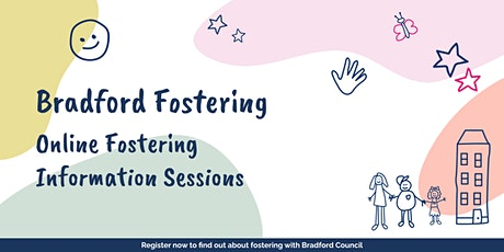 Join this intro session to find out more about fostering in Bradford tickets