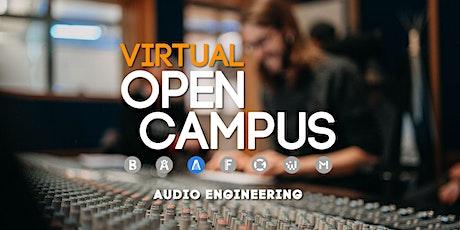 Campus Insights: Audio Engineering tickets