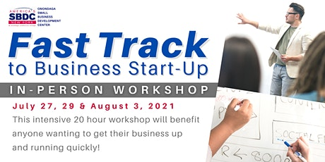 Fast Track to Business Start-Up In-Person Workshop tickets