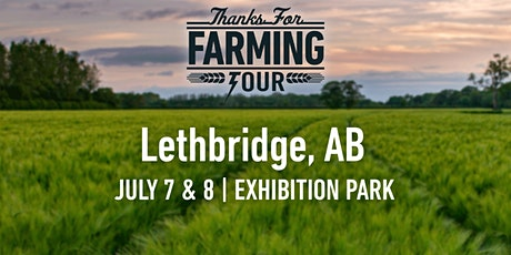 Thanks For Farming Tour Lethbridge tickets