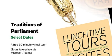 Lunchtime Tours: Traditions of Parliament tickets