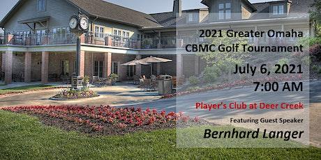 CBMC Greater Omaha Golf Tournament tickets