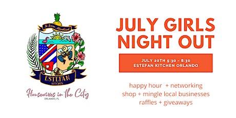 July  Girls Night Out - Estefan Kitchen Orlando tickets