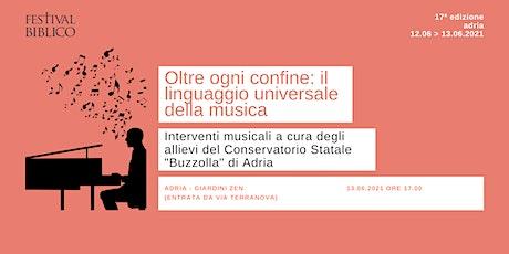OLTRE OGNI CONFINE: IL LINGUAGGIO UNIVERSALE DELLA MUSICA biglietti