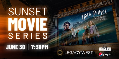 Sunset Movie Series: Harry Potter & The Goblet of Fire tickets