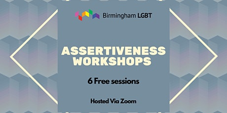 Assertiveness sessions for LGBT+ tickets