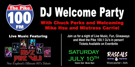 100.1 The Pike DJ Welcome Party tickets