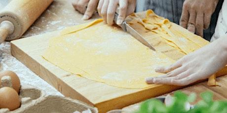 In-Person Class: Italian Date Night: Handmade Tagliatelle with Creamy (P) tickets