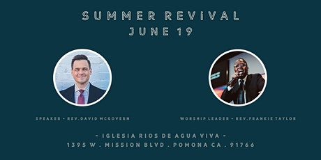SoCal Youth Summer Revival Service tickets