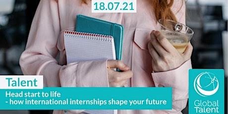 Head start to life - how international internships shape your future! tickets