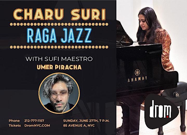 Charu Suri Raga Jazz w/ Sufi Maestro Umer Piracha image