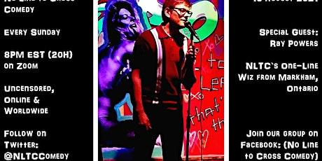 No Line to Cross Comedy (15 Aug 2021) tickets