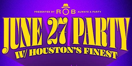 DJ ROB Presents JUNE 27 PARTY w/ PAUL WALL, SLIM THUG & LIL KEKE tickets