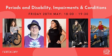 Periods & Disability Online Panel Discussion tickets