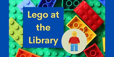 Lego at the Library - July 1 tickets