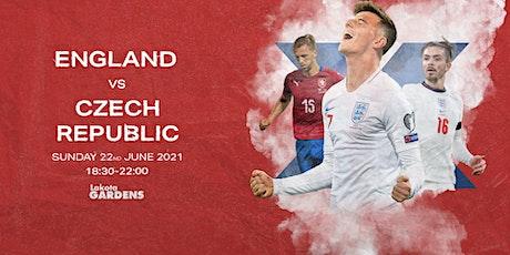Euros 2021: England vs Czech Republic tickets
