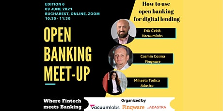 Open Banking Meet-up #6 tickets
