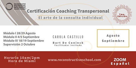 """FORMACIÓN EN """"TRANSPERSONAL COACHING"""" 7ma. Edición (Español) boletos"""