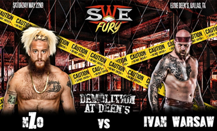 """SWE FURY TV """"DEMOLITION AT DEEN'S"""" TELEVISION TAPINGS image"""