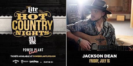 Miller Lite Hot Country Nights: Jackson Dean tickets