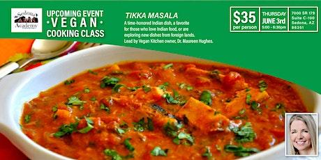 Vegan Cooking Class  - Tikka Masala tickets